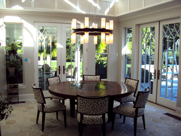 Contemporary dining room furniture - Linda Ruderman Interiors Greenwich Ct 187 Blog Archive Modern Classic